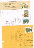 ITALIA (ITALY) - STORIA POSTALE - 1997 LOTTO DI 4 LETTERE X INTERNO)   - RIF. 1650 - 1991-00: Poststempel
