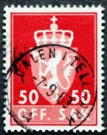 Norway  1962  Minr.88X  ( O) DALENITELEMARK 7-9-1963   ( Lot L 349) - Service