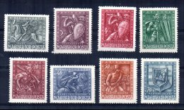 Hungary - 1943 - Wounded Soldiers' Relief Fund (Part Set) - MH - Hongrie