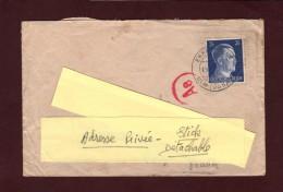 ALLEMAGNE - 2 Scannes - 717 -  Enveloppe - EHRENSTEIH  - Expédiée De WÜRTTEMBERG - Covers & Documents