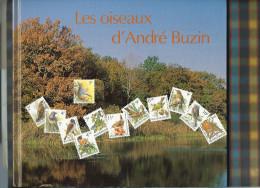 1* livre  des oiseaux de Buzin  de 1992 (avec les timbres !!)format: 250 x 210 mm