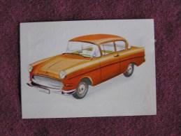 OPEL 1200  Chromo Auto 1962 Chocolat Jacques Eupen Automobile Trading Card Chromos Vignette - Jacques