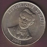 HAITI 50 CENTIMES 1991 C.Peralte - Haïti
