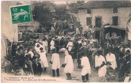 FRANCE  C.P.A  81  TARN  BARRE  La Buffetiero  (en L'état) - France