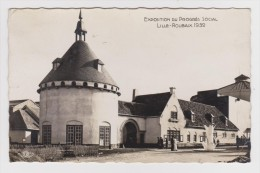 59 - LILLE - EXPOSITION DU PROGRES SOCIAL LILLE ROUBAIS 1939 - LE GAY VILLAGE DU CENTRE RURAL - FLAMME - 2 Scans - - Lille
