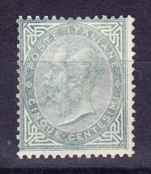 Italien 1863 Mi.# 16 * Mit Falz (5 Cent.) - 1861-78 Victor Emmanuel II.