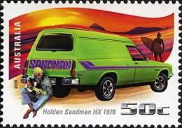 2006. AUSTRALIAN DECIMAL. Driving Through The Years. 50c. Holden Sandman HX 1976. FU. - 2000-09 Elizabeth II