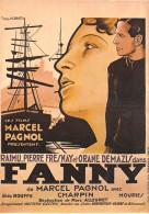 Spectacle-Cinema-Affiche Sur Carte- FANNY Marc Allegret (Raimu, P.Fresnay, O Demazis)(NUGERON E 48) *PRIX FIXE - Plakate Auf Karten