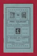 Catalogue Des Timbres De France Et Colonies Françaises  1933 - Catálogos De Casas De Ventas
