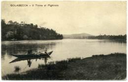 N.355.  GOLASECCA  - 1919 - Altre Città