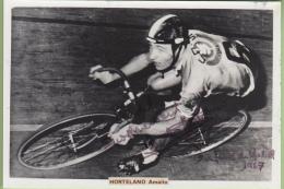Amalio HORTELANO - Autographe Manuscrit - 6 Jours Cycliste De MADRID En 1967 - 2 Scans - Ciclismo