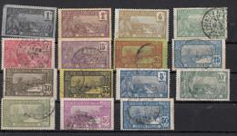 Série Vues De Guadeloupe 1905 & 1922 18 Différents - Oblitérés