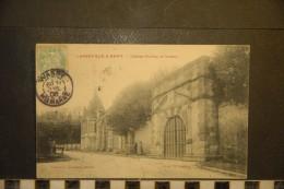 CP, 52, LANEUVILLE A REMY Chateau Pavillon De Voltaire TRES RARE Edition Lallement Jacquinot - Francia