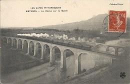 04 SISTERON VIADUC SUR LE BUECH TRAIN TBE - Sisteron