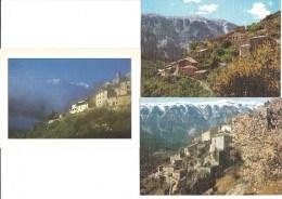 4 CPM - BRANTES (84) Charmant Petit Village (au Pied Du Mont Ventoux) - France