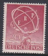 Germany Berlin 1950 European Recovery Plan MNH - [5] Berlin