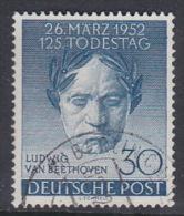 Germany Berlin 1952 Beethoven Used - [5] Berlin