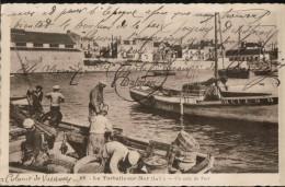 Carte Sépia  69. La Turballe.sur.Mer (L.I) .Un Coin Du Port, Bien Animée Avec BATEAUX - La Turballe
