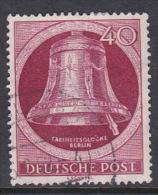 Germany Berlin 1952 Freedom Bell 40pf  Carmen, Used - [5] Berlin