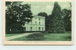 MONTLIGNON  - Le Petit Bury à Margency. - Montlignon