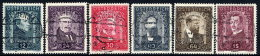 AUSTRIA 1932 Painters Set Used.  Michel 545-50 - 1918-1945 1st Republic