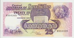 Seychelles 25 Rupees 1989 Pick 33 UNC - Seychellen