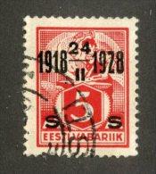 7017x  Estonia 1928  Scott #85 (o)  Michel #69  Offers Welcome! - Estonia