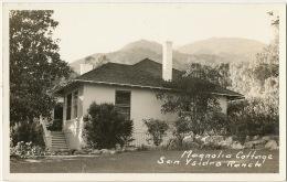 Real Photo Santa Barbara 1940  San Isidro Ranch Magnolia Cottage - Santa Barbara