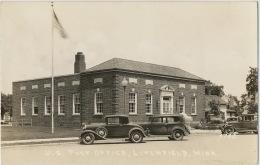 Real Photo Litchfield US Post Office Cars - Etats-Unis