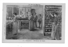 CPA1002 - La Vie Du Mineur - Lampisterie - Distribution Des Lampes - Mines
