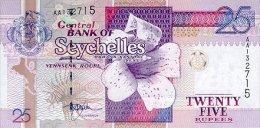 Seychelles 25 Rupees 1998 Pick 37 UNC - Seychelles
