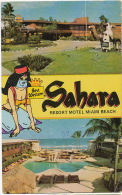Sahara Resort Motel Miami Beach Best Western 1984 Muslim Belly Dancer - Miami Beach