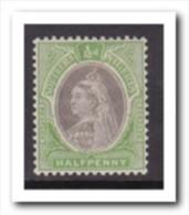Southern-Nigeria 1901, Postfris MNH, Queen Viktoria, ( Weak Fold ) - Nigeria (1961-...)