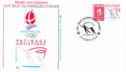 ALBERTVILLE (73), XVI èmes Jeux Olympiques D´Hiver, Albertville 92, Patinage Artistique, 08/02/1990 - 1990-1999