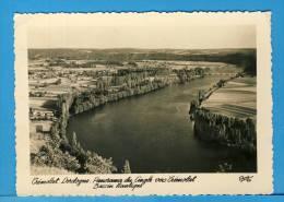 CP, 24, TREMOLAT, Panorama Du Cingle Vers Trémolat - Bassin Nautique, Voyagé En 1954 - France