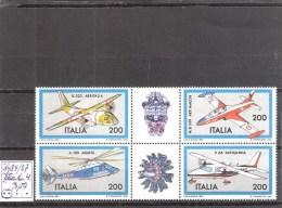 Italie : N°1484/87 ** En Bloc De 4  Fraîcheur Postale Cote Yvert : 3,00 € - 6. 1946-.. Repubblica