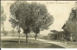 CPA TOURS Le Vélodrome 11167 - Tours