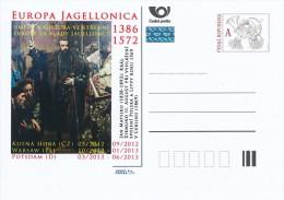 """Czech Rep. / Postal Stat. (Pre2012/54) EUROPA JEGELLONICA (2) Jan Matejko """"King Sigismund II Augustus"""" - Museums"""