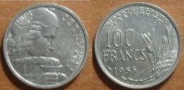 1955 - France - 100 FRANCS, Cochet - France