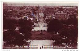 LE HAVRE - 76 - CPSM - Les Jardins De L´hôtel De Ville Et La Rue De Paris - Non Classés
