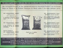 Pub. Reclame Landbouw - Ammoniaksulfaat - Stikstofmest - Produits Du Marly - Renory Ougrée - Publicidad