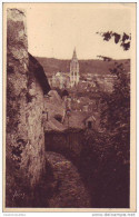 CAUDEBEC EN CAUX -76 - Perspective Sur L´église Notre Dame - Caudebec-en-Caux