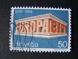 THEME EUROPA CEPT HELVETIE HELVETIA SUISSE 1969 - Europa-CEPT