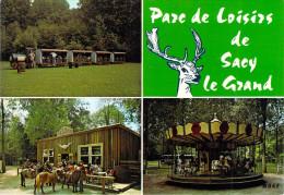 60] Oise (canton Liancourt) SACY Le GRAND Parc De Loisirs Route De Labruyère-Multi Vues(manège Train Saloon) *PRIX FIXE - Liancourt