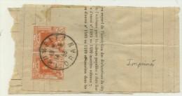 N°4x2 Sur Bande Journal De Trumelet (Oran) Du 14-9-36 Pour Paris - Lettres & Documents