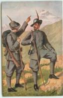 ARMEE ITALIENNE CHASSEURS ALPINS - Uniformi