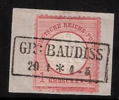 """DR, Nr. 4  Luxus-Bfst., Ideal """" Gr. Baudiss """" , S835 - Allemagne"""