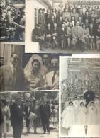 LOTE DE 8 FOTOGRAFIAS ORIGINALES DE LA EPOCA - Personas Anónimos