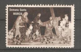 Viñeta Semana Santa Murcia - España