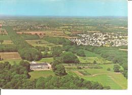 ORVAULT   Vue Aérienne , Le Chateau Du Plessis Et Le Lotissement Du Bois Raguenet - Orvault